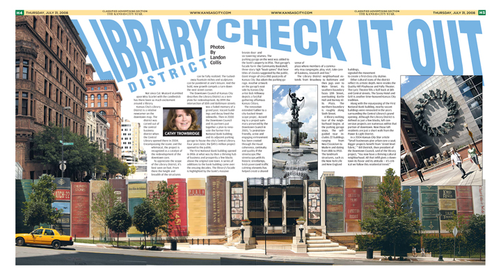 Library District Centerspread